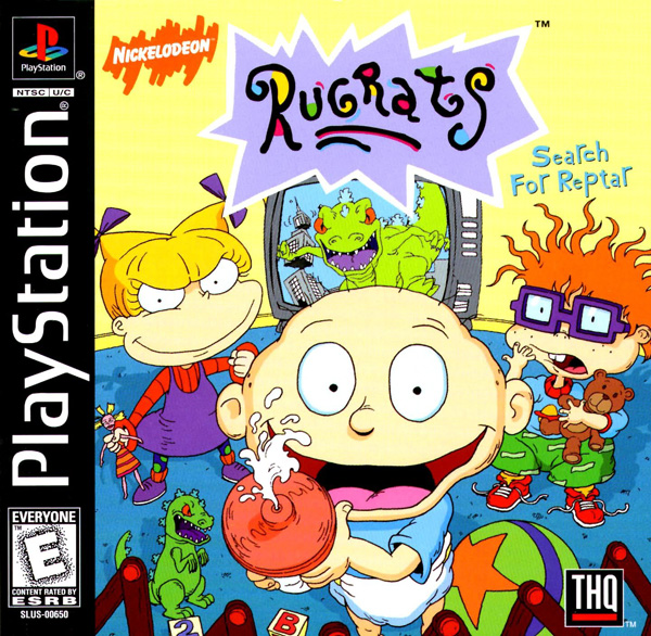 Rugrats - Search for Reptar [U] Front Cover